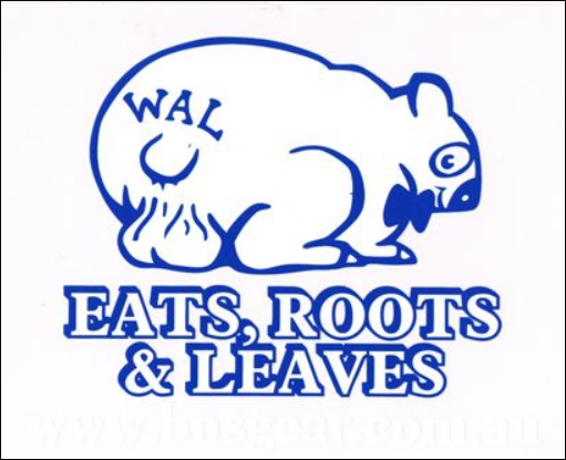 Eats, Roots & Leaves