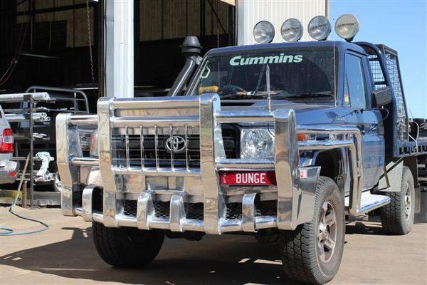 70 Series Landcruiser Boomer Bullbars