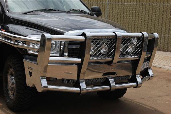 Dodge Ram Bull Bar >> Dodge Ram 3 Inch Feral Thumper - Boomer Bullbars