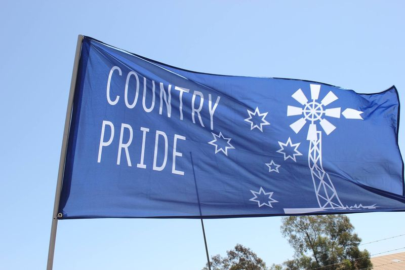 Country pride flag