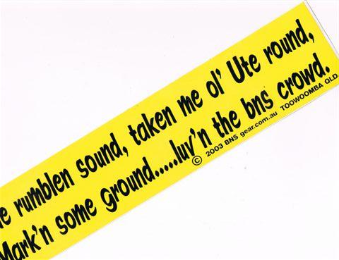 Rumblen Sound